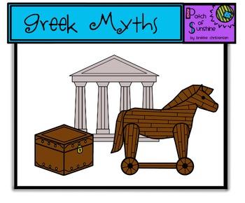 Greek Mythology Clip Art *Patch of Sunshine*