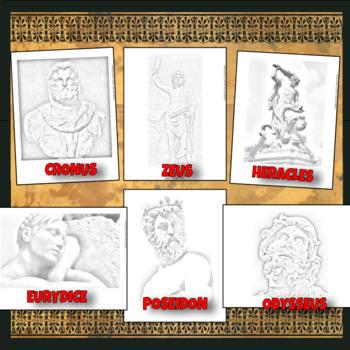 Greek Mythology Coloring PAGES