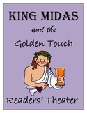 Greek Mythology Common Core - Readers' Theater King Midas and the Golden Touch