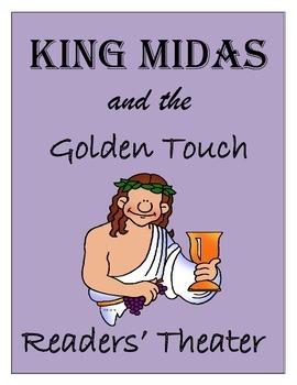 Greek Mythology Common Core - Readers' Theater King Midas