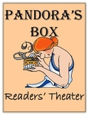 Greek Mythology Common Core  - Readers' Theater Pandora's Box
