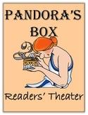 Greek Mythology Common Core  - Readers' Theater Pandora's Box