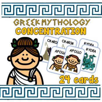 Greek Mythology Concentration