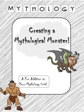 Greek Mythology- Creating a Mythological Monster