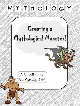 Greek Mythology- Creating a Mythological Monster