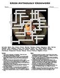 Greek Mythology Crossword Puzzle