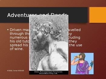 Greek Mythology - Dionysus PPT