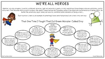 Everyone's a Hero Activity
