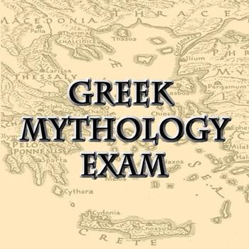 Greek Mythology Exam