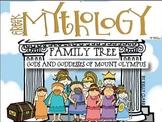 Greek Mythology Family Tree Project- Olympian Gods and Goddesses
