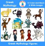Greek Mythology Figures Clip Art