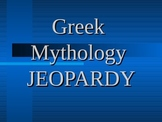 Greek Mythology Game