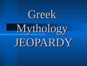 Greek Mythology Game