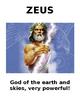 Greek Mythology Gods & Goddess Bundle
