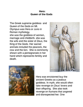 Greek Mythology Hera: Queen of the Gods