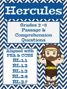 Greek Mythology: Hercules - Aligned with FSA
