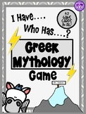 Greek Mythology - I Have, Who Has...? Game