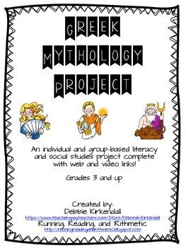 Greek Mythology Individual and Group Project
