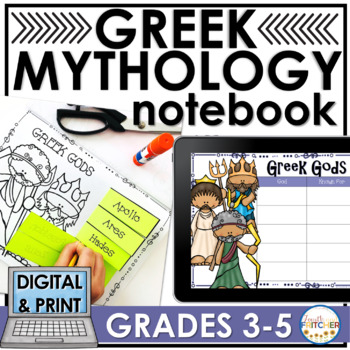 Greek Mythology Interactive Notebook
