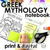 Greek Mythology Interactive Notebook