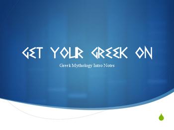 Greek Mythology Introduction