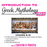 Greek Mythology Introduction PowerPoint