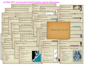 Greek Mythology Introduction PowerPoint