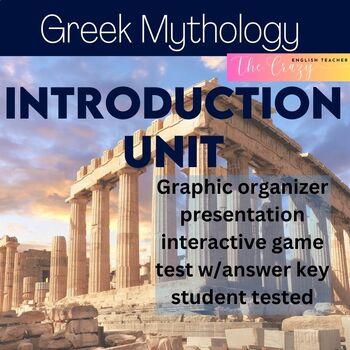 Greek Mythology Introduction Unit