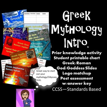 Greek Mythology Introduction Unit