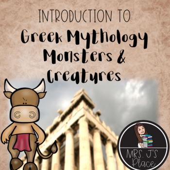 "Greek Mythology: Introduction to Monsters and Creatures of ""The Lightning Thief"""