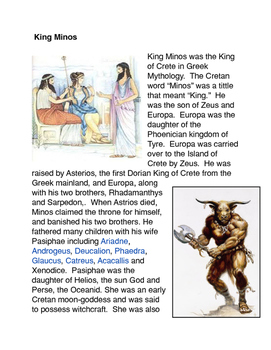 Greek Mythology: King Minos