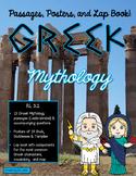 Greek Mythology Lapbook and Close Reading Passages RL 3.2
