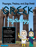 Greek Mythology Lapbook and Close Reading Passages RL 3.2