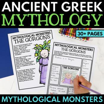 Greek Mythology Unit Monsters
