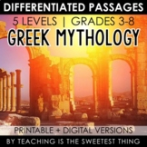Greek Mythology: Passages - Distance Learning Compatible