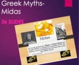 Greek Mythology - Midas PPT