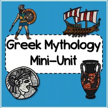 Greek Mythology Mini-Unit