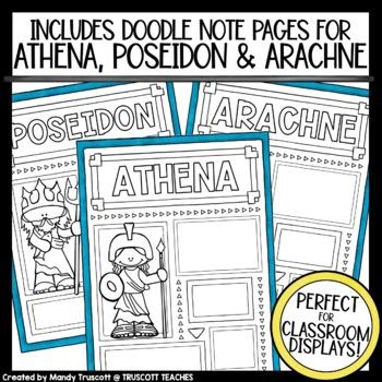 Greek Mythology ... Myth Comparison & Activities