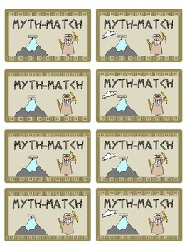 "Greek Mythology ""Myth-Match"" Game"