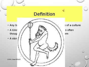 Greek Mythology - Myths An Introduction AND Write your Own Myth PPT