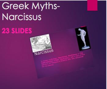 Greek Mythology - Narcissus PPT