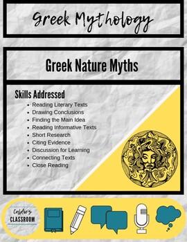 Greek Mythology Nature Myths