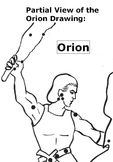 Greek Mythology: ORION THE HUNTER Story w/ 17 Multiple Choice Reading Compreh Qs