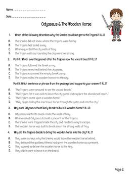 Greek Mythology: Odysseus - Aligned with FSA