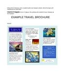 Greek Mythology Odyssey Travel Brochure Project