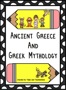 Greek Mythology Pack of Activities