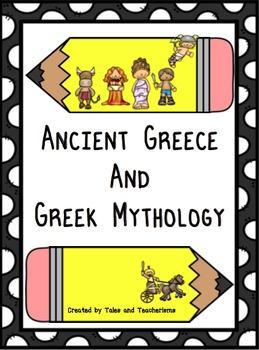 Greek Mythology Pack of Activities