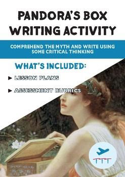 Greek Mythology: Pandora's Box - Writing Activity