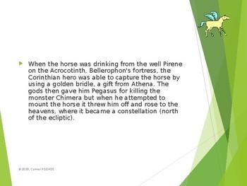 Greek Mythology - Pegasus PPT