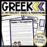 "Greek Mythology ... ""Persephone & Hades"" Myth & Questions"
